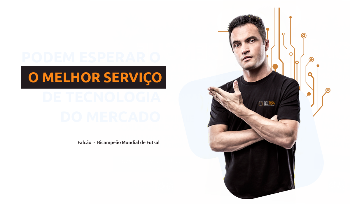 primeiro banner do site tectray